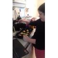 Tamara cooking with GFS