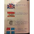 Jessica's Roman invasion work- can you translate?