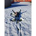 Mrs Treharne's snow angel