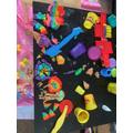Laurel's Play-doh Creation :D