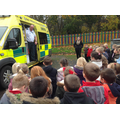 We learnt all about ambulances and paramedics.