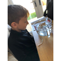 Ethan's ice experiment