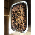 Not bad - bread pudding - yum!