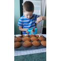 Zack's been baking...