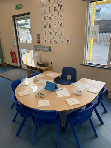 Teacher led activity area