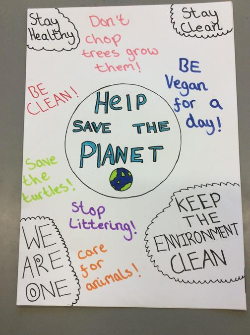Help Save The Planet Poster