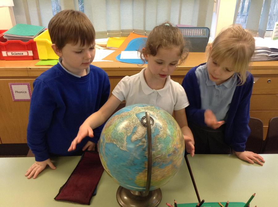 Working together to find the continents and ocean