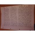 Natalie's wonderful descriptive writing!