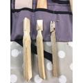 Eirwen's skill for whittling wood!