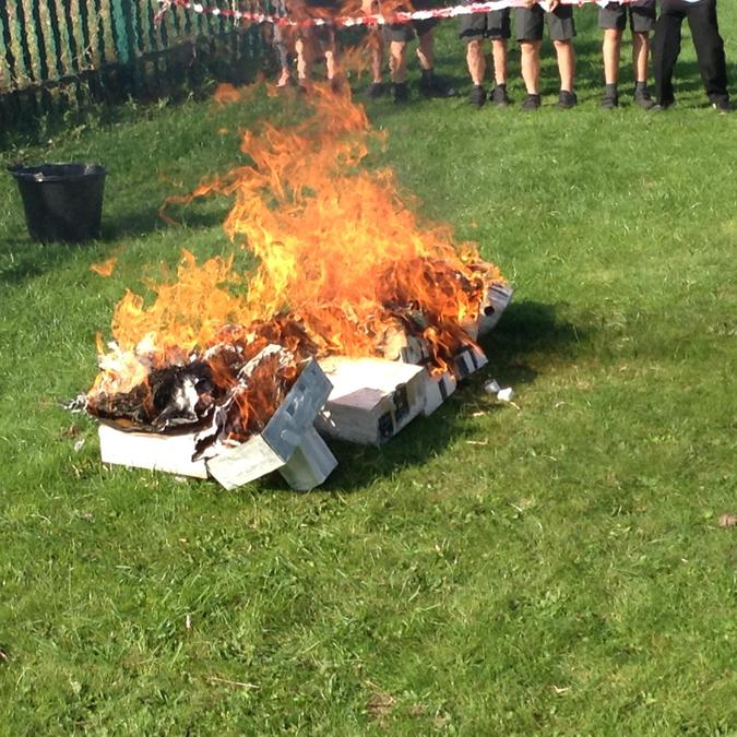 The wind certainly fanned the flames.