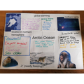 Olivia's wonderful project on the Arctic Ocean