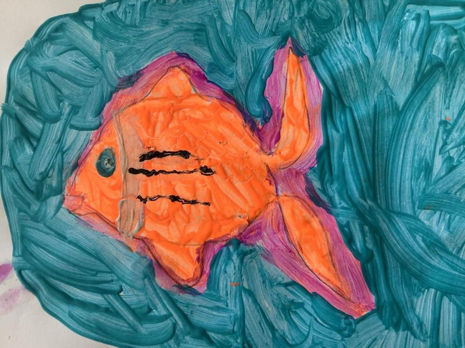 Tropical fish by Erica