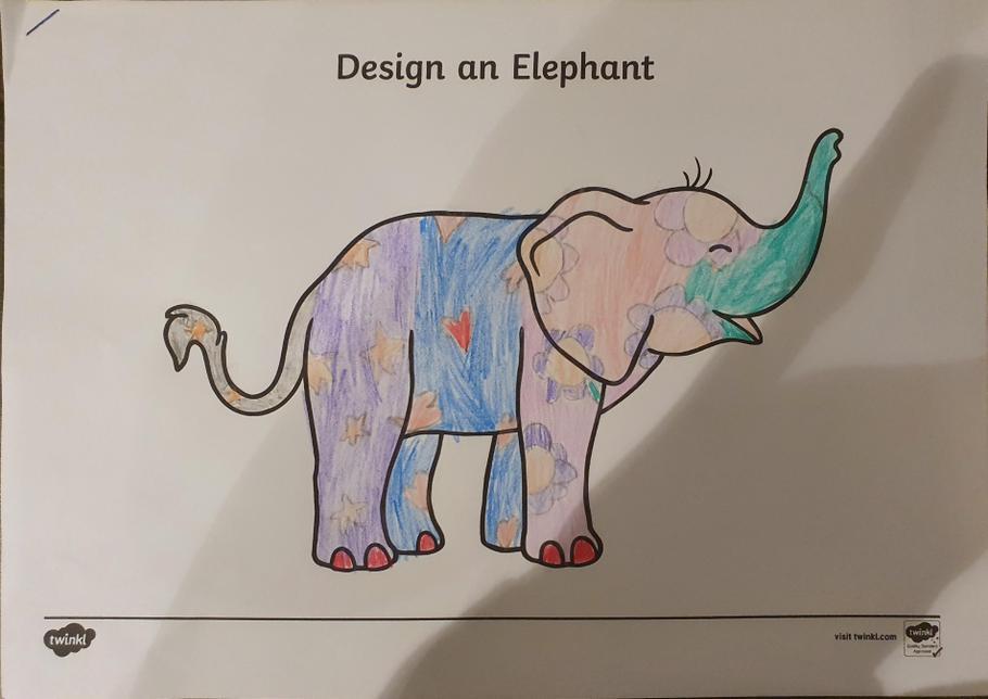 Nicole's elephant