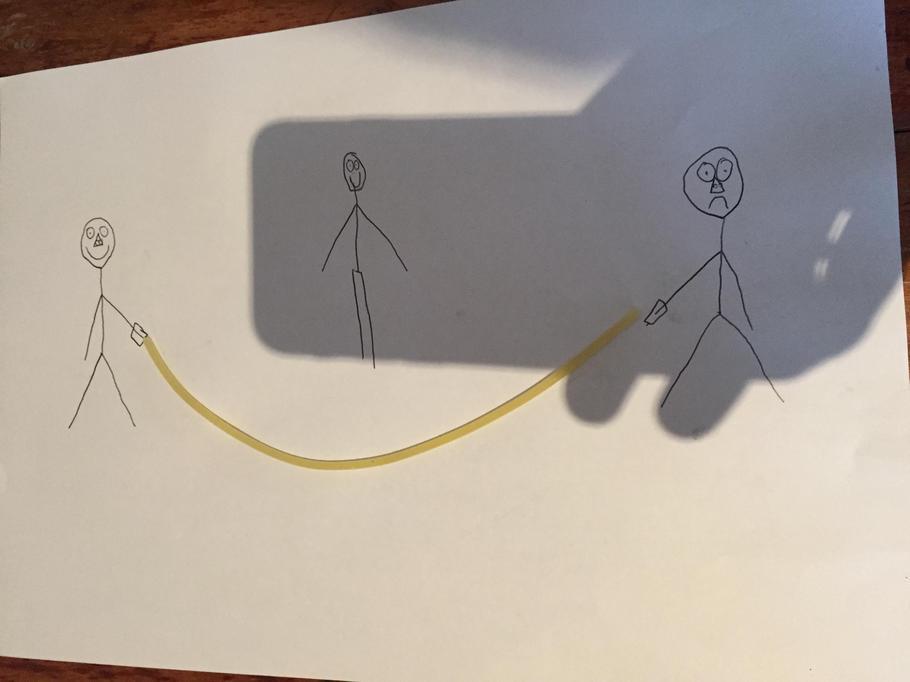 Jake's spaghetti skipping