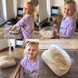 Abigail becoming a star baker!