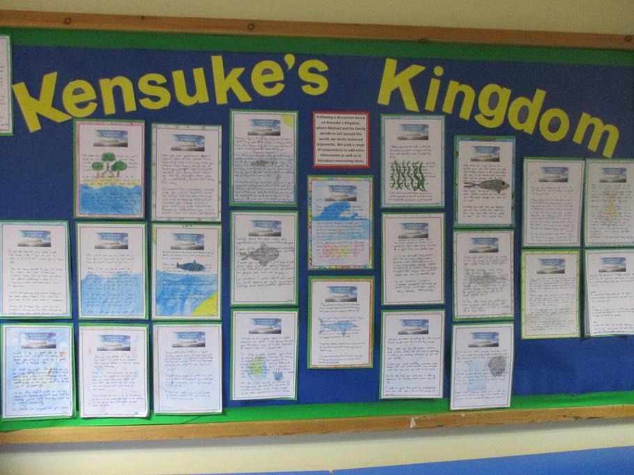 Our balanced arguments based on Kensukes' Kingdom