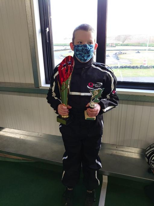Zak came 3rd in the Youngstarz Cadet Championship