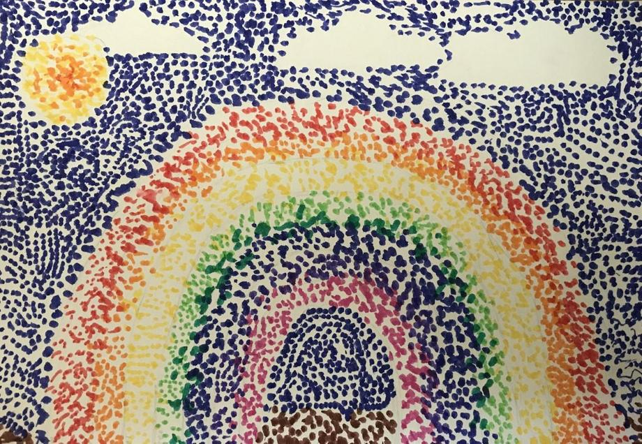 Amazing perseverance with pointillism Jack L.