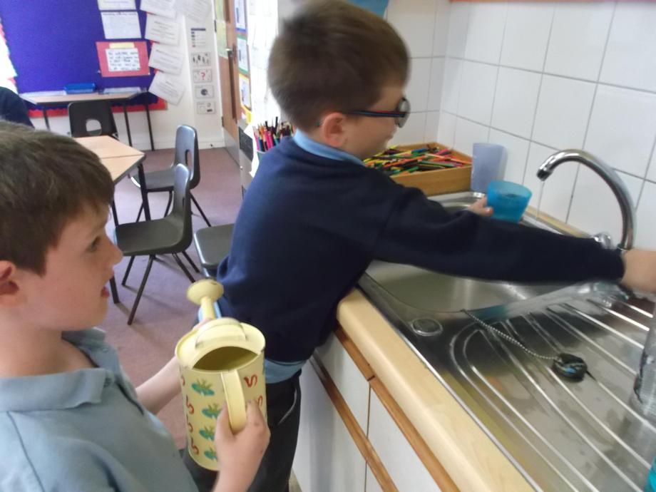 Measuring the correct amount of water