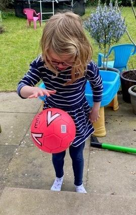 The 'can you bounce a ball 50 times?' challenge