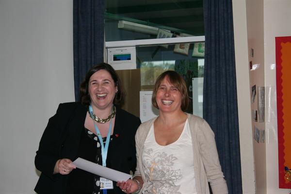Presented with a Leaver Certificate