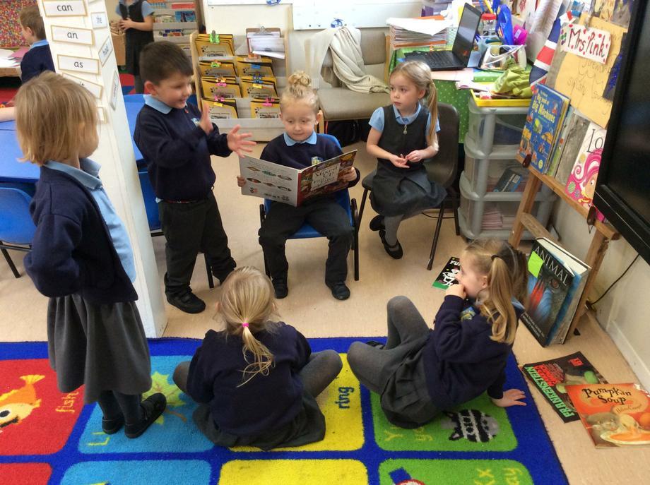 Reading 'Mixed up fairy tales'