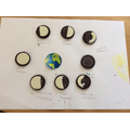 Using Oreos to make the phases of the moon