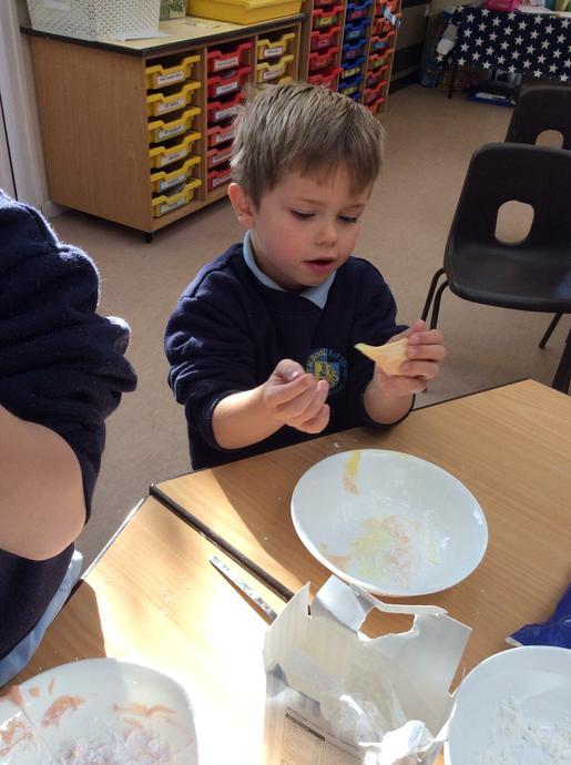 Making edible slime