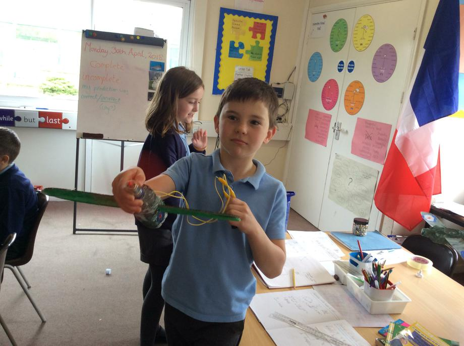 Motorised Model Spitfires - Science