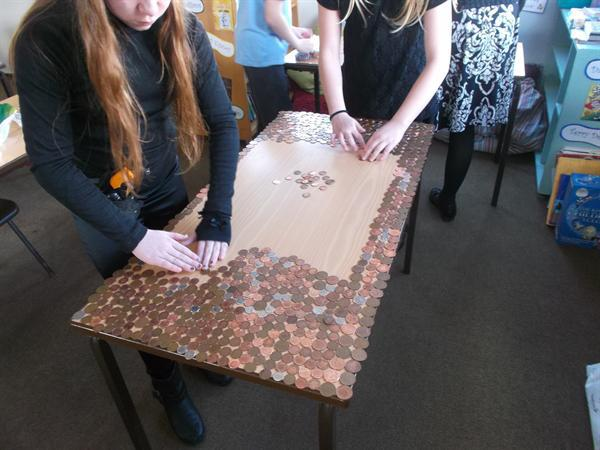 Year 6 Coin Collection for Children in Need