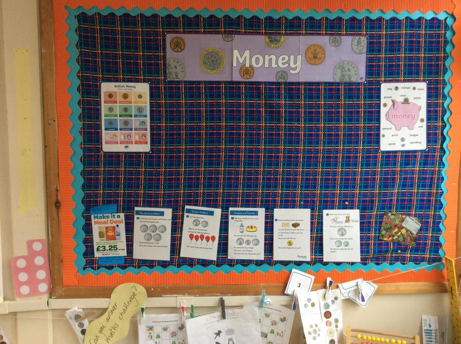 Excited to start learning about money.