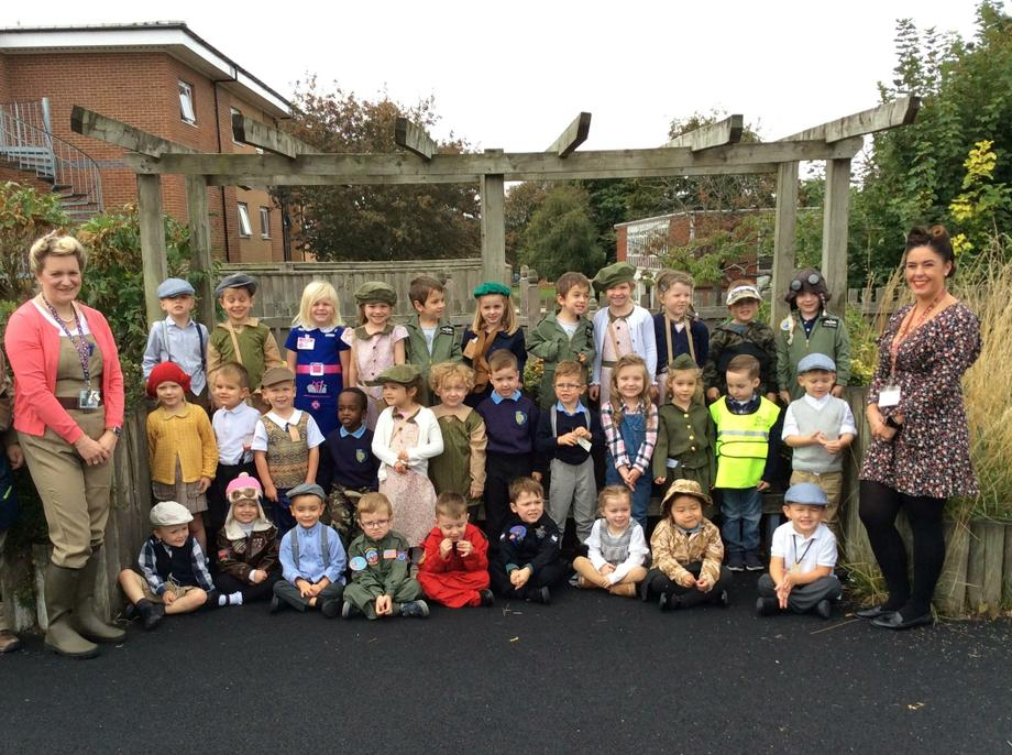 Battle of Britain dress up day