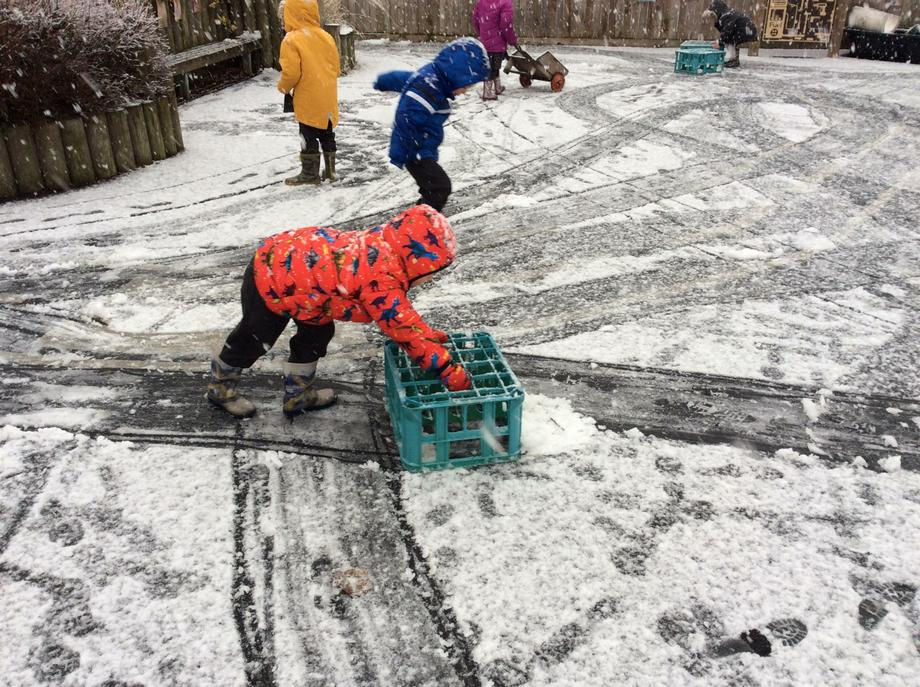 making tracks with 'snow ploughs'