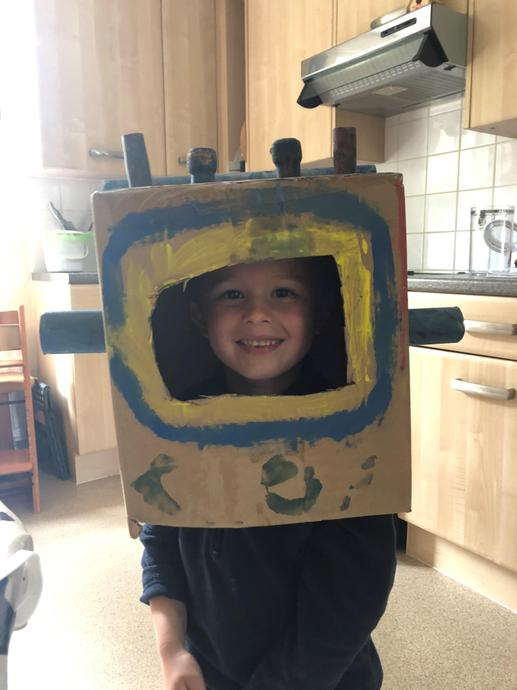 The 'make a space helmet' challenge