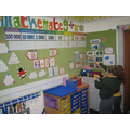 Our giant place value chart is really helpful!