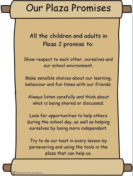 Plaza Promises Year 3 and 4
