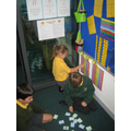 Our Maths walls help us to problem solve.