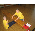 We are even building Maths into our PE lessons.