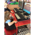 Ordinal numbers game on the computer.