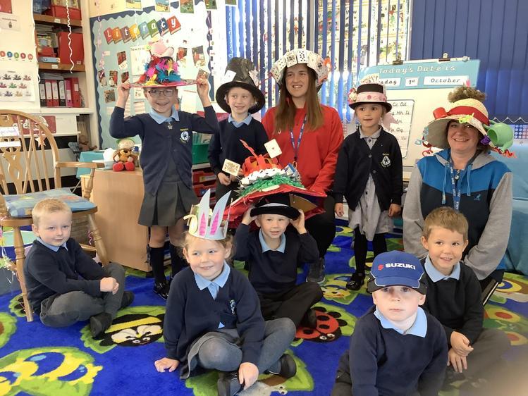Look at those fantastic hats!