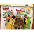 Our World Book Day winners