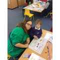 Saying, building and writing words together