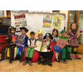 Year 1 looking amazing for World Book Day