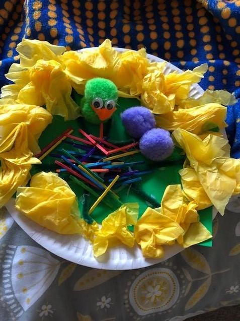 Fantastic Easter Craft by Harry in B8! Well done!