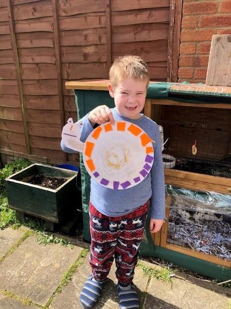 We love this snail Harry! Well done!
