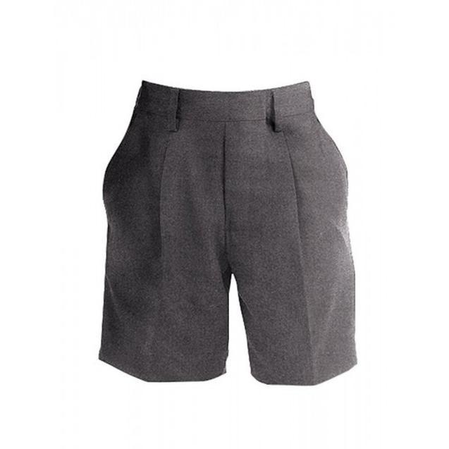 Grey or black shorts