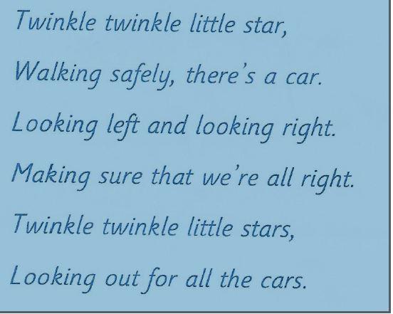 Changing nursery rhymes.