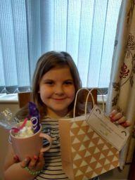 Milly was very pleased to get a special delivery this week!