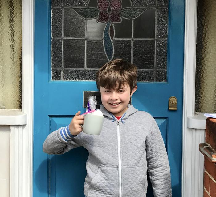 Another happy winner! Well done Elliot!