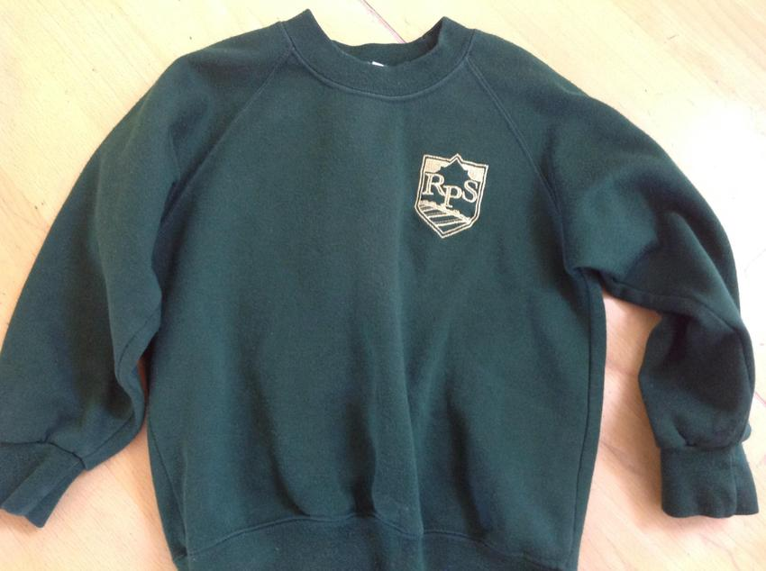 Green sweatshirt £8.00